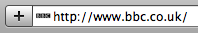 Blurry BBC favicon in Safari
