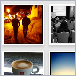 Screenshot of photo gallery